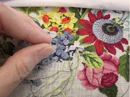 how to stitch a needlepoint rug rsn 2