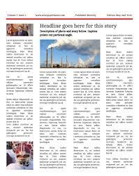 11x17 Newspaper Template Premium Newspaper Templates Print And Digital Makemynewspaper Com