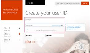 office 360 login set up your office 365 development environment