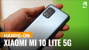 <b>Xiaomi Mi 10 Lite</b> 5G hands-on and key features - YouTube