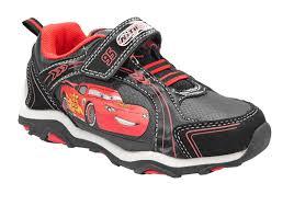 Cars Light Up Shoes Amazon Com Disney Pixar Cars Toddler Boys Black Red