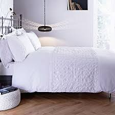 bianca cotton soft origami 100 cotton 200 thread count pintuck duvet cover set white single linens limited