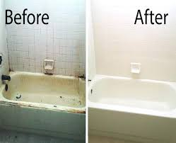 refinish acrylic bathtub a before after picture of a mesa bathtub refinished by our team diy refinishing acrylic bathtubs
