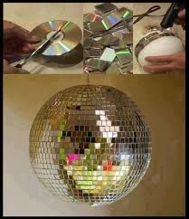 Decorative Disco Ball Extraordinary Decorating Parties With Old CD´s So Creative Things Creative