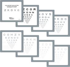 Sloan Low Contrast Letter Set Book