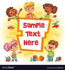 children book cover vector image