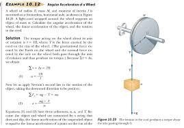 example rotating rod example falling smokestacks example angular acceleration of wheel