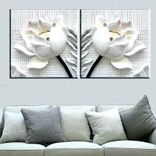 floral wall art 2 piece canvas wall art white lotus flowers modern canvas art wall decor on canvas floral wall art with floral wall art abstract painting abstract bougainvillea painting