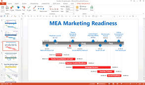 power point gant chart editing a gantt chart in powerpoint using the free office timeline