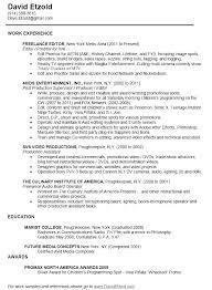 Managing Editor Resume Template Cv Free Lytte Co