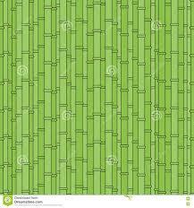 Geometrisch Nationaal Naadloos Japans Patroon Met Bamboe Vector