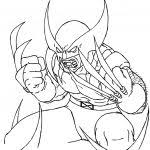 Small Picture Printable Wolverine Coloring Pages Coloring Me Coloring Pages For