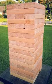 How To Play Tumbling Tower Wooden Block Game Tumbling Towers Blocks game that is great for ANY outdoor occasion 64