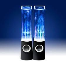 bluetooth speakers with lights and water. image is loading bluetooth-amp-non-bt-stereo-dancing-water-tower- bluetooth speakers with lights and water
