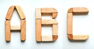 letters wooden blocks the free alphabet cards block home decor