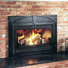 convert wood fireplace to gas fireplaces converting gas fireplace to wood stove insert