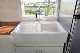 Small Picture Tiny House on Wheels w Big Kitchen and Double Sink Vanity