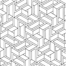 Small Picture Optical Illusion Coloring Pages For Adults Archives Mente Beta