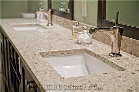 quartz commercial bathroom top