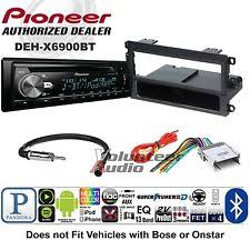 buick rendezvous radio parts accessories pioneer car stereo radio bluetooth cd player dash install mount harness antenna fits buick