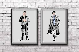 Set Sherlock Holmes Dr John Watson Cross Stitch Patternquotesoh I May Be On The Side Of The Angelswe Cant Giggledownload Pdfb118