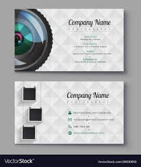 Card Design Template 033 Best Photography Business Cards Design Templates Free