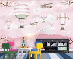 Bestellen Beibehang Custom 3d Behang Moderne Cartoon Luchtballon