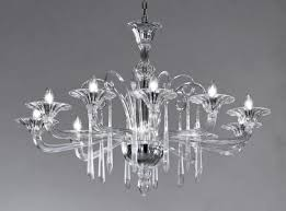 crystal clear modern murano chandelier dml6012k10 murano lighting within murano chandeliers
