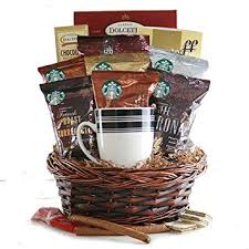 starbucks coffee starbucks gift basket