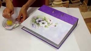 image decorate. how to decorate folderfile with rice paper dekorieren ordner youtube image h