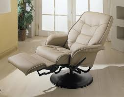 leather rocker recliner chair contemporary romantic swivel with heat and chairs in 17
