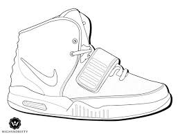 Sneaker Kleurplaat