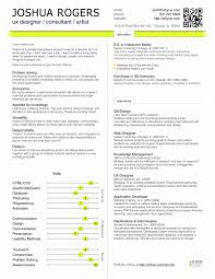 Creative Resume Sample Ux Designer Resume Sample New Colorful Creative Resume Senior Web 38