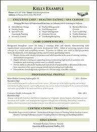 Careers Plus Resumes Mesmerizing Gallery Of Sample Executive Chef Cover Letter Executive Chef