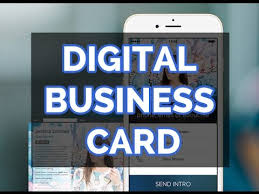 Digital Business Card The New Digital Business Card For Your Iphone Youtube