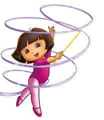 fantastic gymnastics. dora the explorer fantastic gymnastics