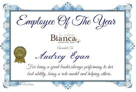 Printable Employee Of The Month Certificates Free Best Employee Award Certificate Ideas Funny Templates