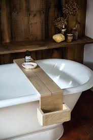 bath caddy wooden australia bathtub diy wood