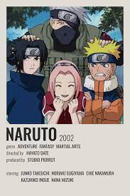naruto poster in 2021 | Anime canvas, Minimalist anime, Anime films