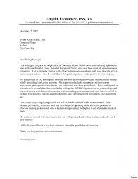 Nursing Cover Letter Samples Resume New Graduate Nurse Sample Cover