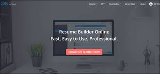 Visual Cv Builder The Best Sites For Building A Resume