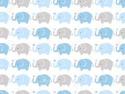 Elephant Pattern Magnificent Seamless Elephant Cartoon Pattern Royalty Free Cliparts Vectors