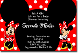 Make Your Own Mickey Mouse Invitations Baby Shower Invitations Design Your Own Baby Shower Cards Do It