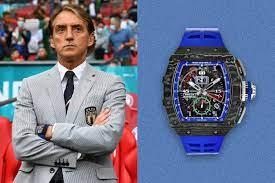 Roberto Mancini: Italians Trainer begeistert mit Richard Mille RM 11-04