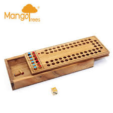 Wooden Horse Race Game The Horse Race Game Wood 100D Logic Wooden Puzzle Family Board 58