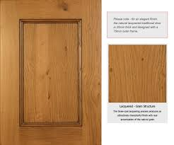 Solid Oak Wood Kitchen Unit Doors And Drawer Fronts Kitchen Oak