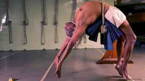 bks iyengar from on yoga by michael o neill