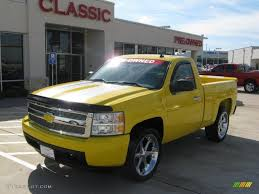 2008 Yellow Chevrolet Silverado 1500 LT Regular Cab #39503045 ...