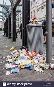 Image result for trash piling up cities