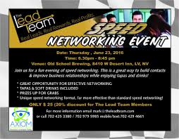 Speed Networking Flyer Os623 Business Networking Pinterest